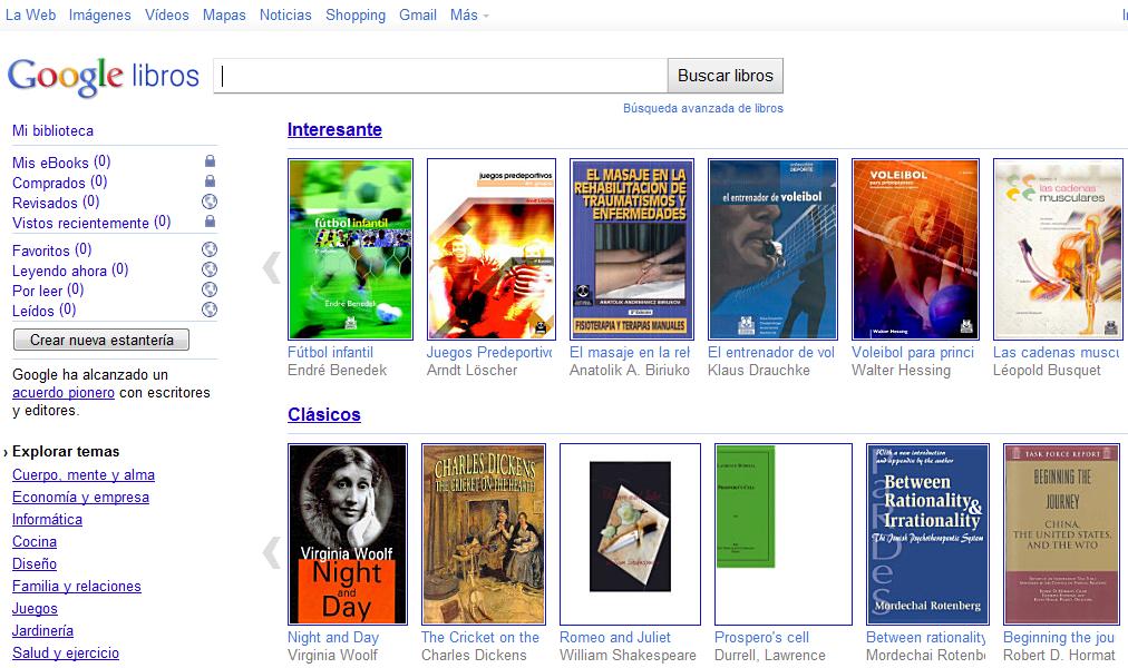 LEE LIBROS ONLINE CON GOOGLE BOOKS (GOOGLE LIBROS) | ADNFriki