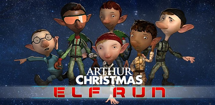 arthur christmas android game