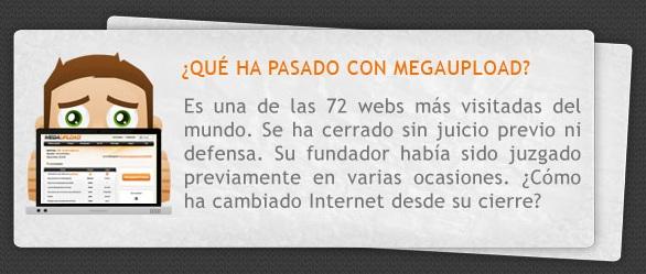 infografia sobre megaupload
