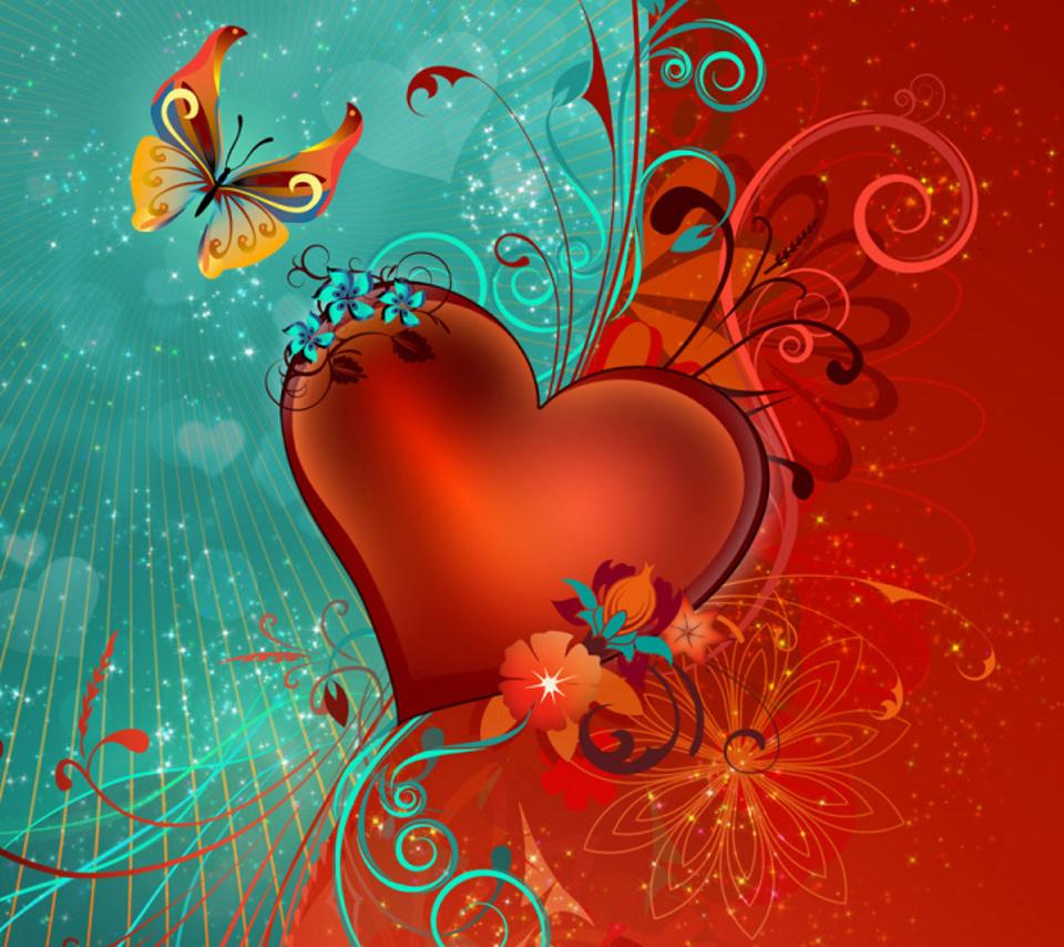 dibujos para colorear san valentin corazones