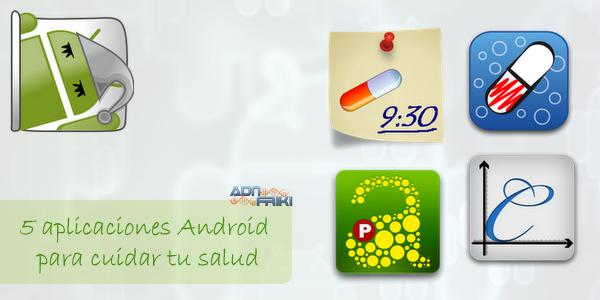 aplicaciones android salud