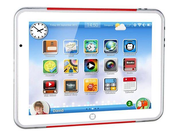 5 tablets infantiles (tablets para niños)