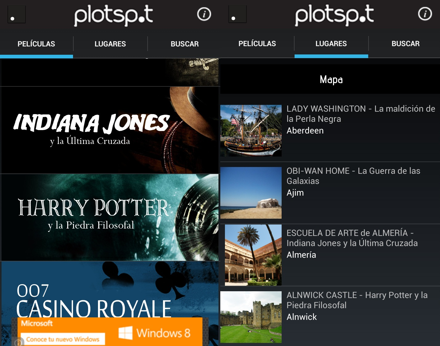 plotspot android
