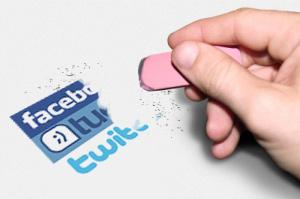 borrar cuentas online