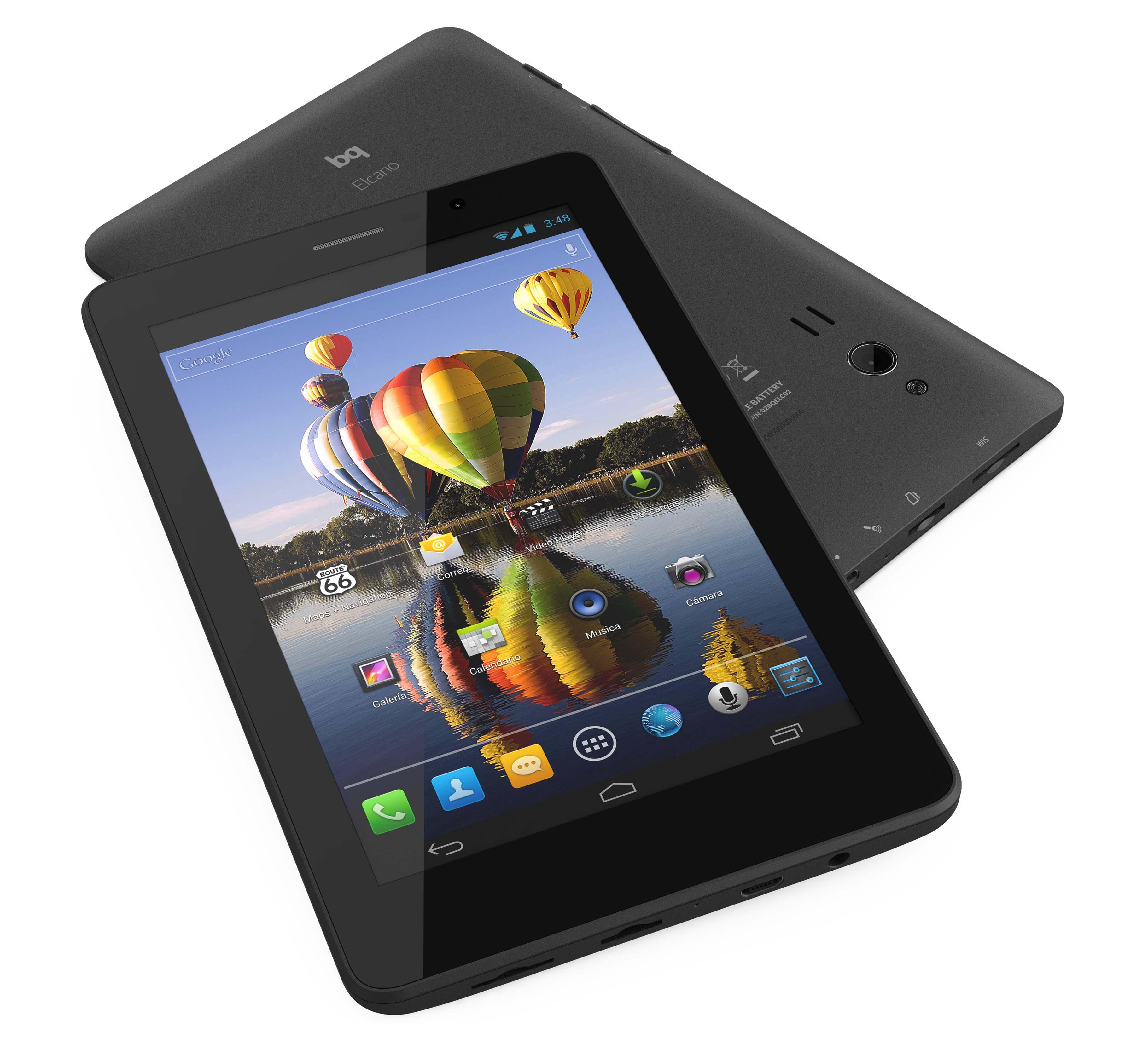 bq elcano tablet