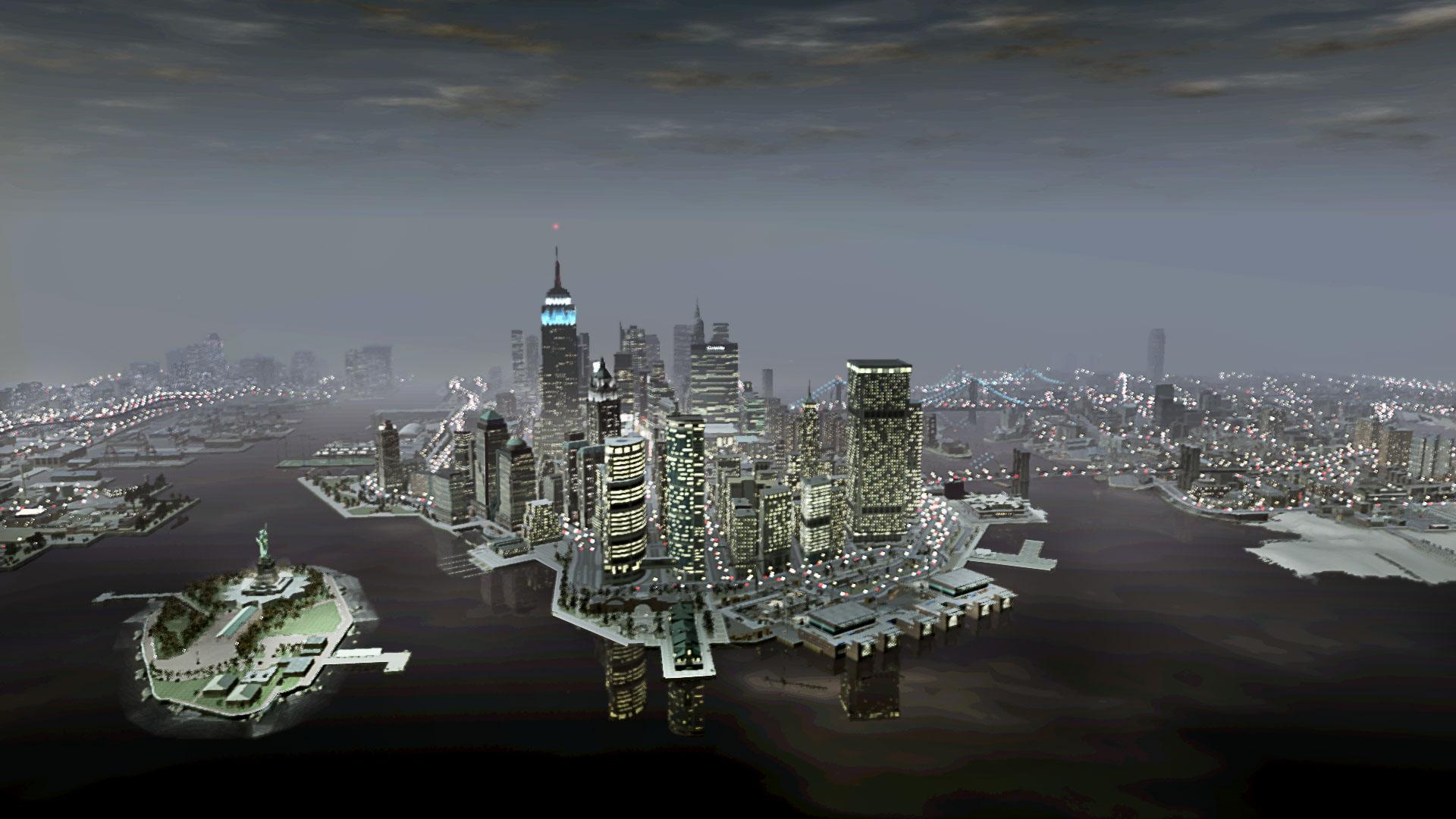 gta IV ciudad