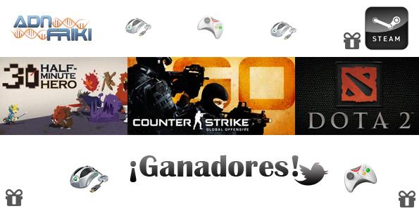 ganadores juegos febrero 2012