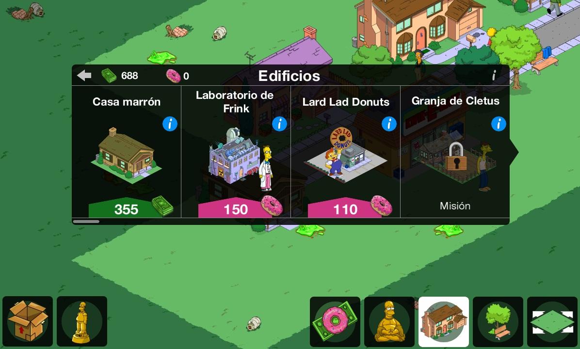 Los Simpson Springfield Un juego de construccin diferente  ADNFriki