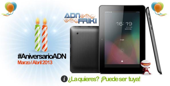 tablet aniversarioadn