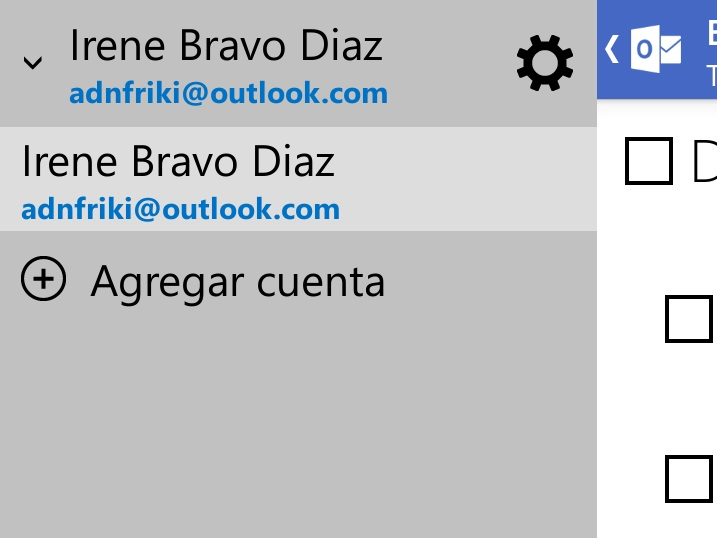 agregar cuenta outlook.com android