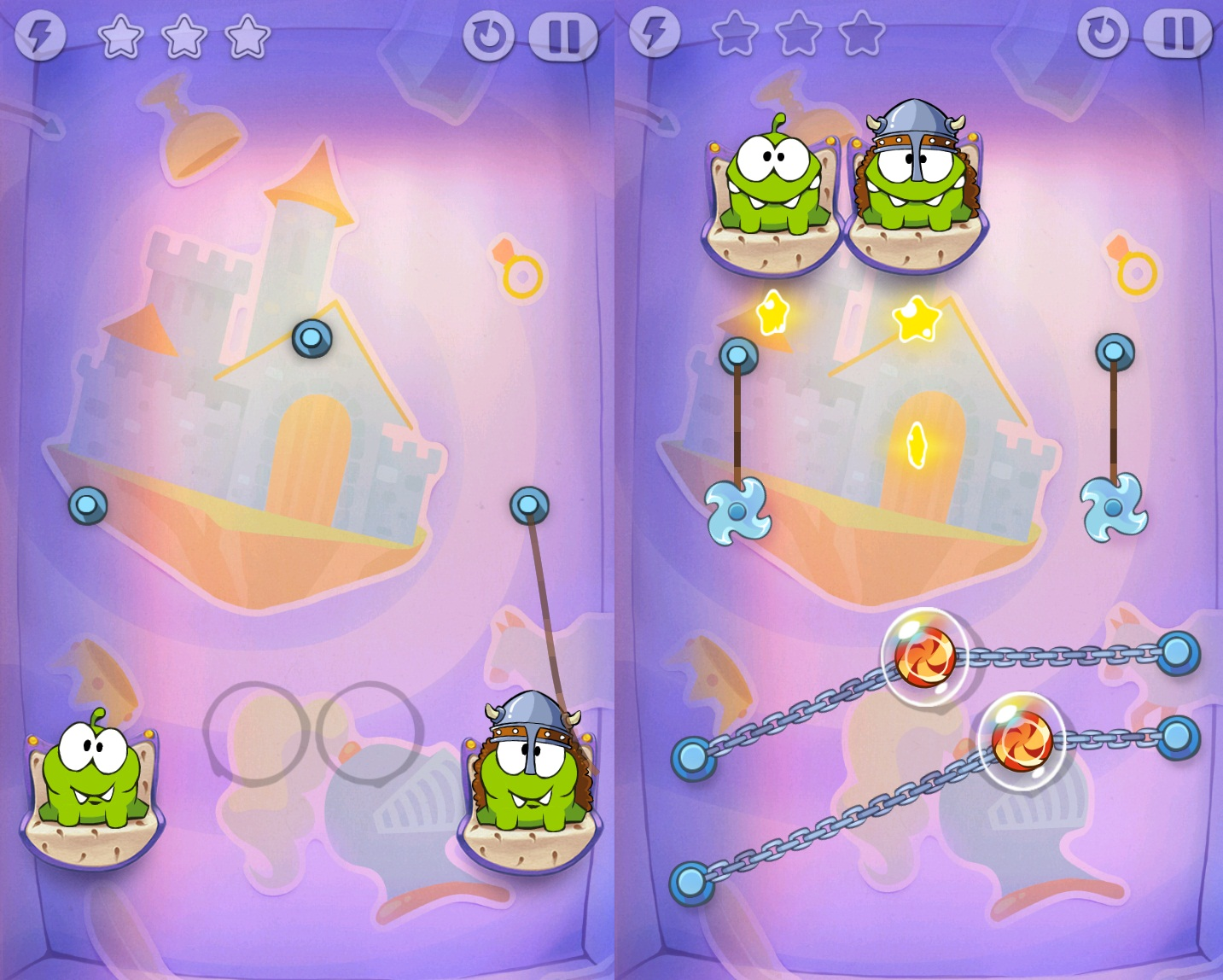 cut the rope time travel android