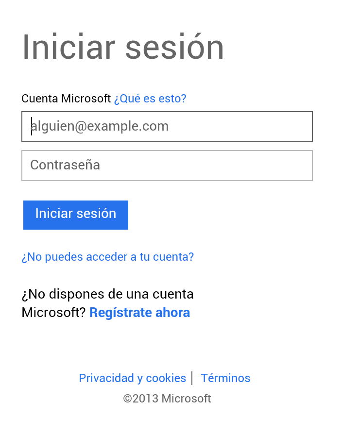 iniciar sesion outlook.com android
