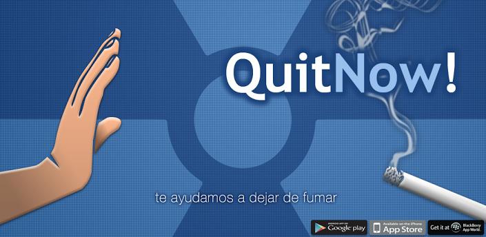 QuitNow! Dejar de fumar