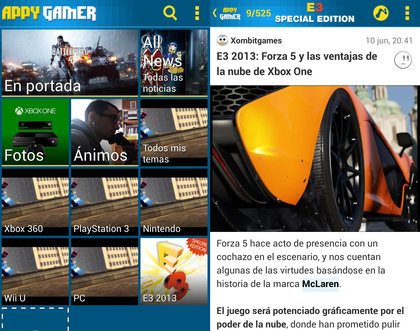 appy gamer android