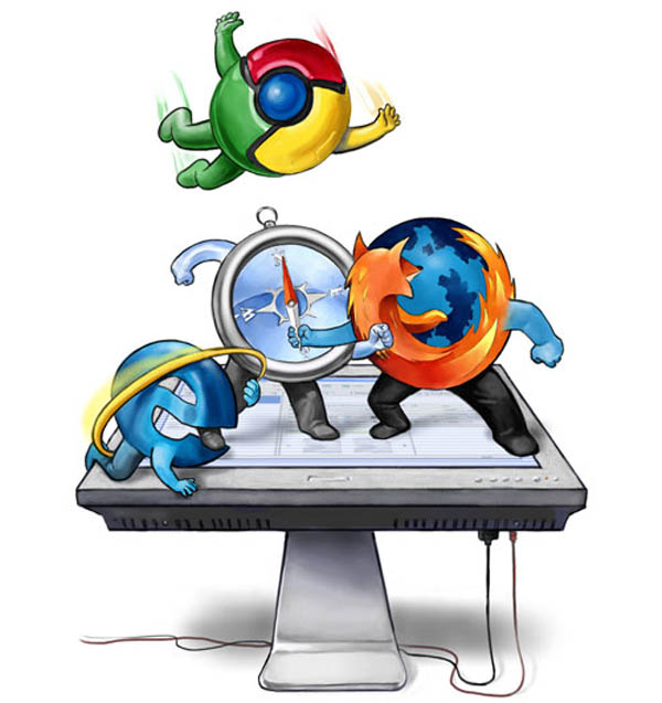 google chrome ganador