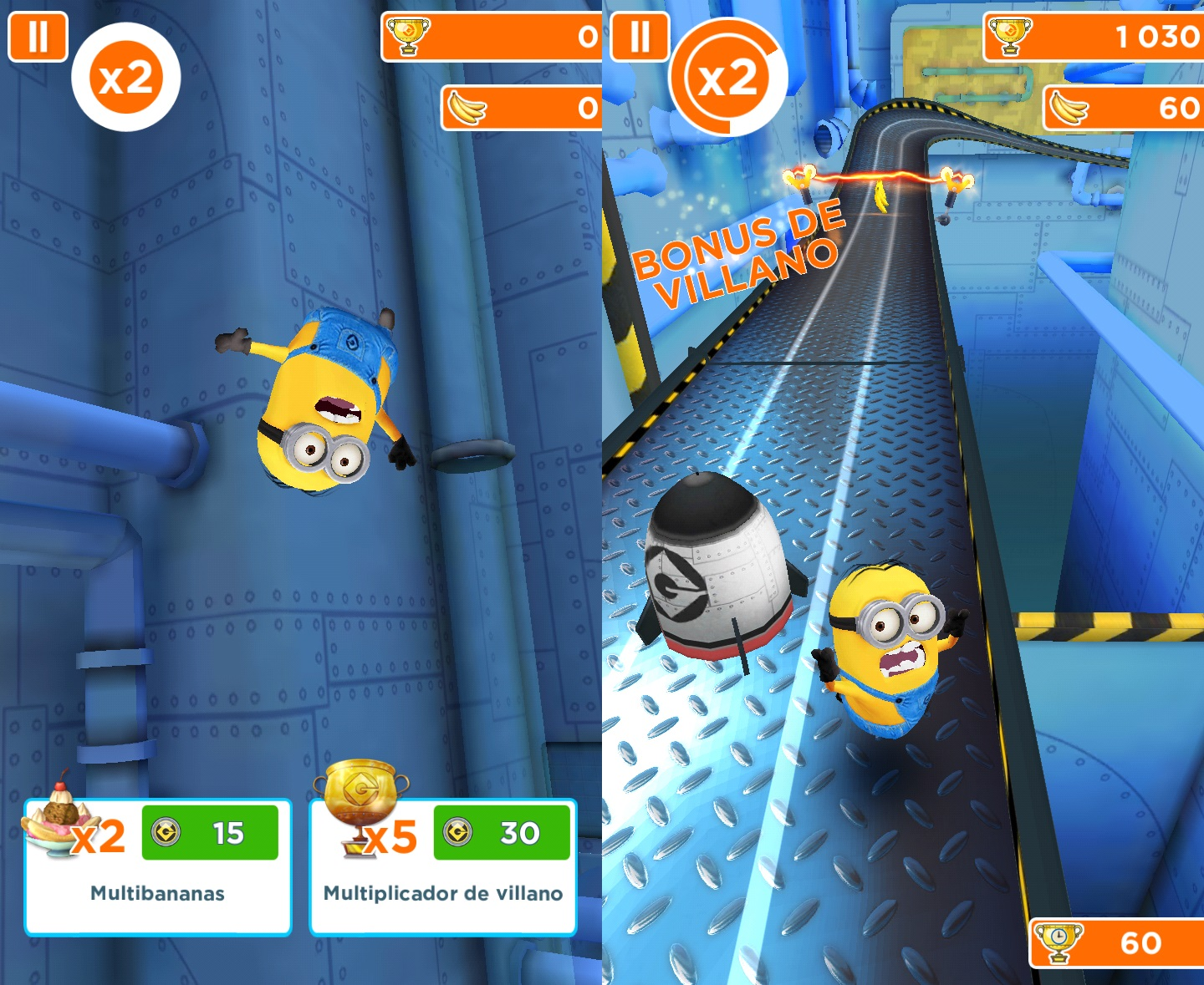 minion rush android