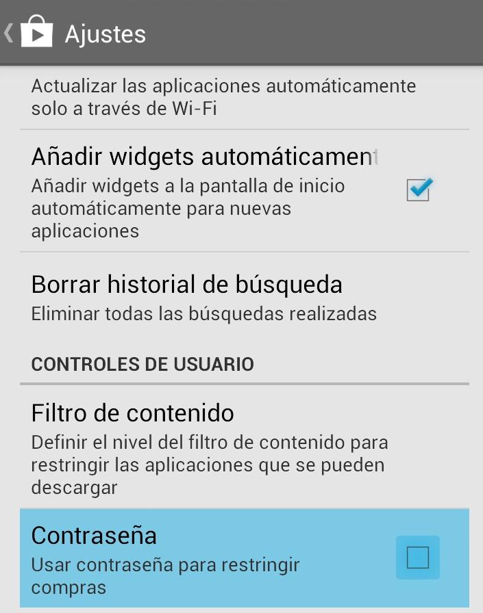 desactivar compras in-app 2