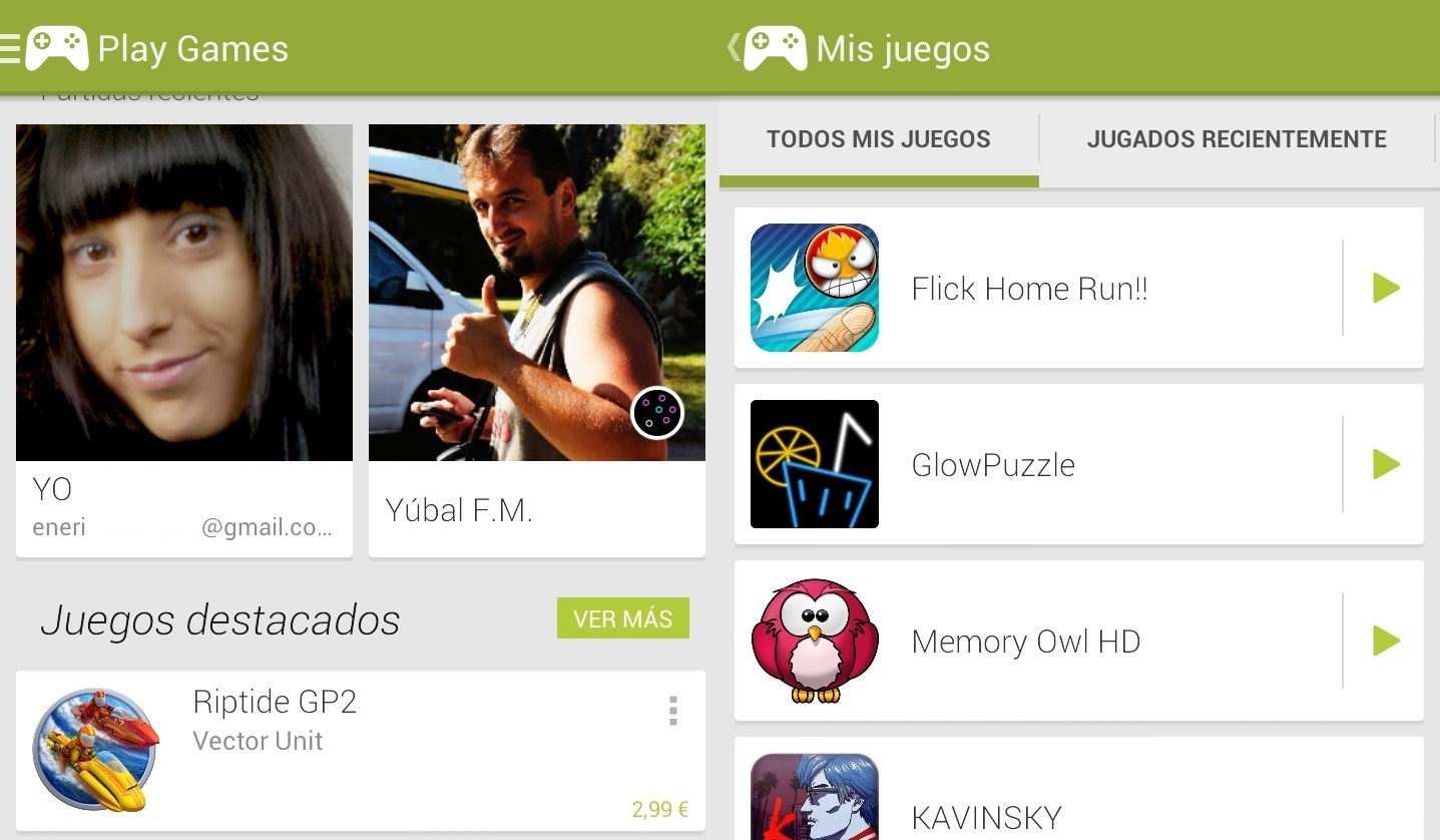 google play games juegos android