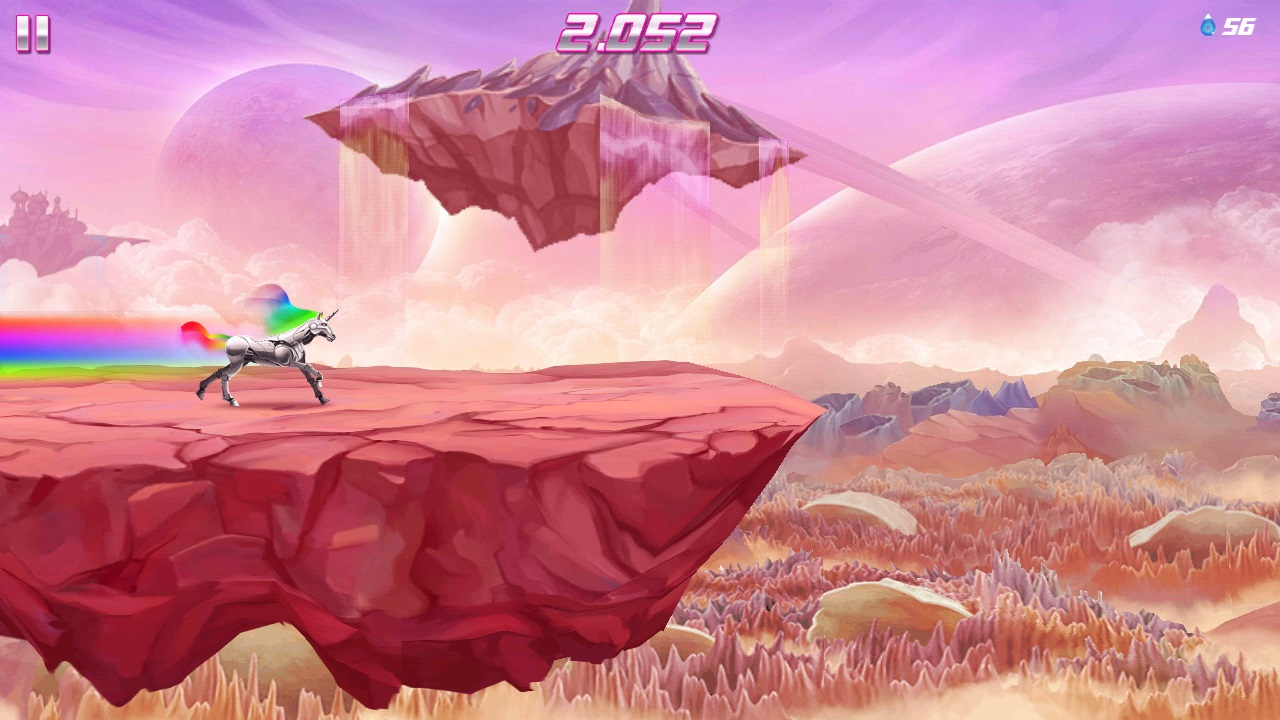 robot unicorn attack 2 android