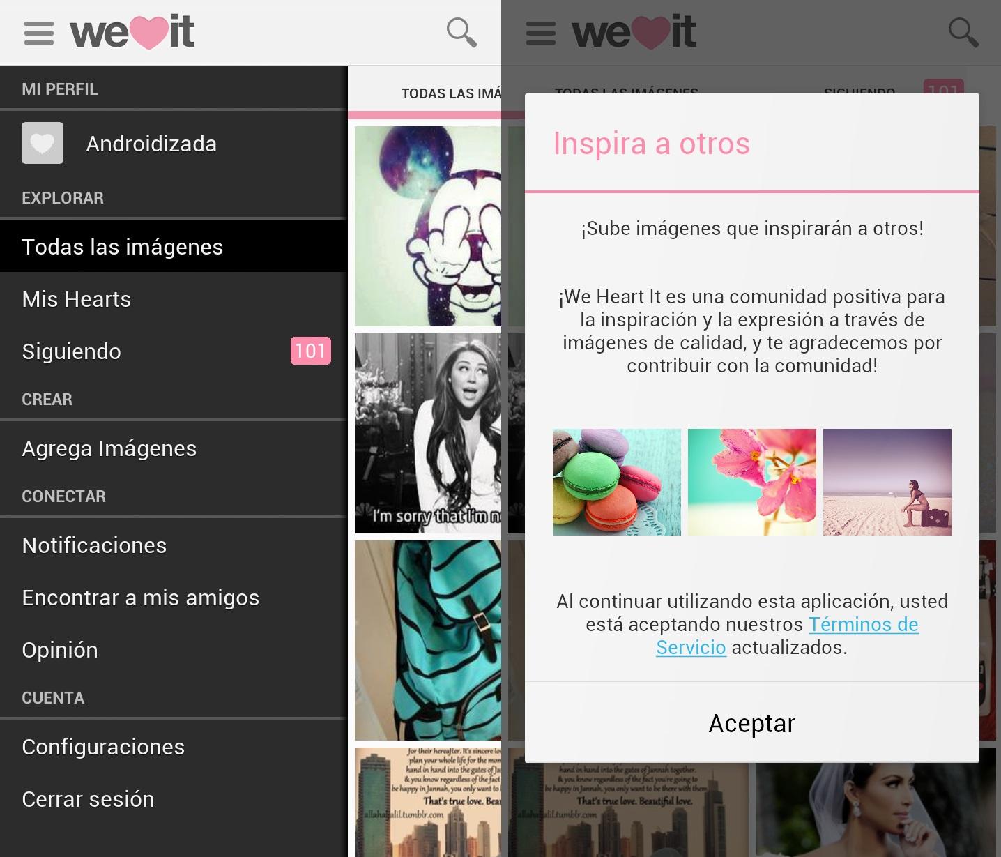 we heart it app