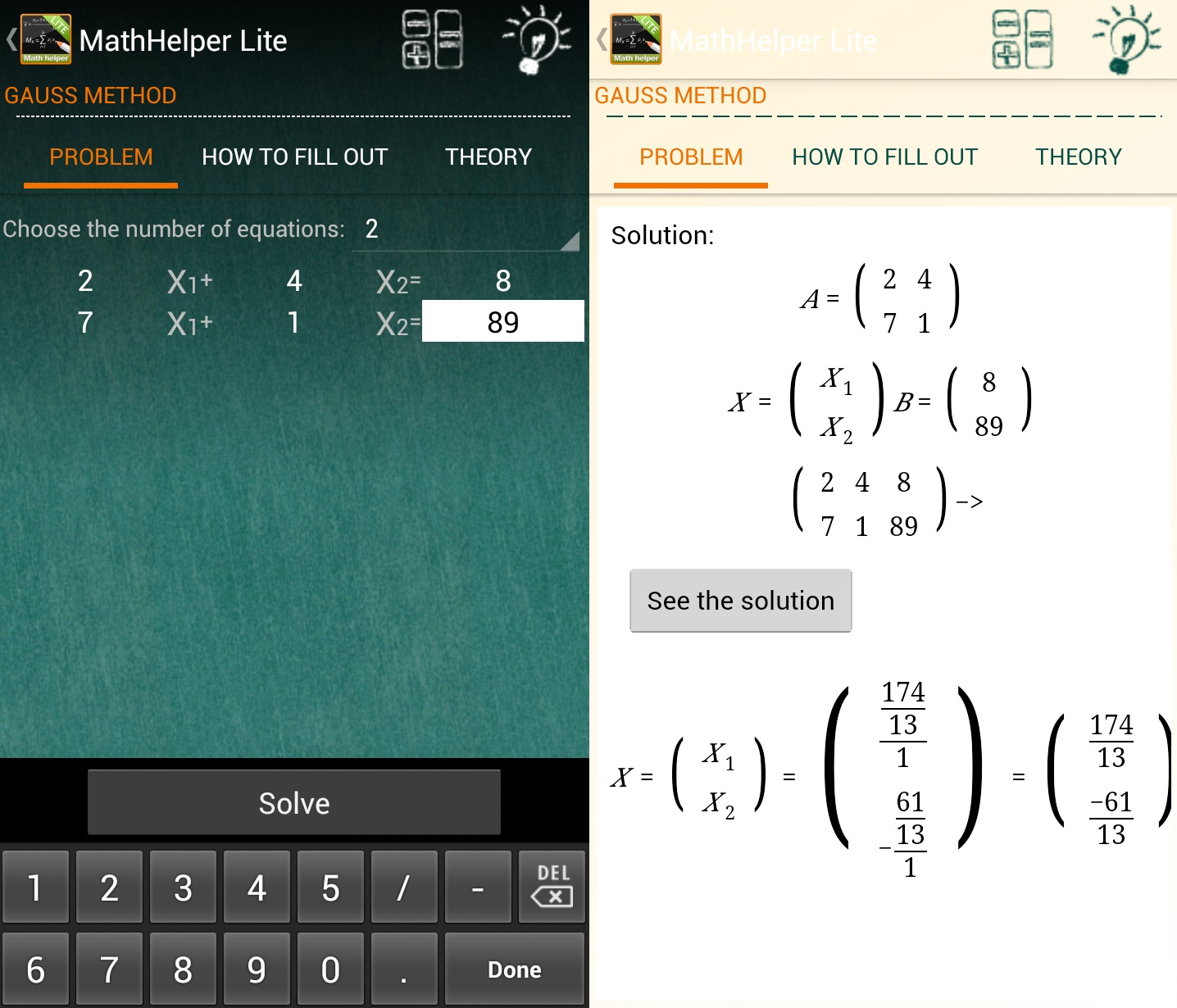 math helper android