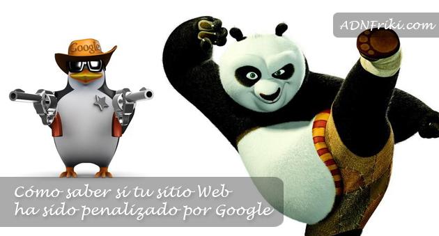 sitio web penalizado google