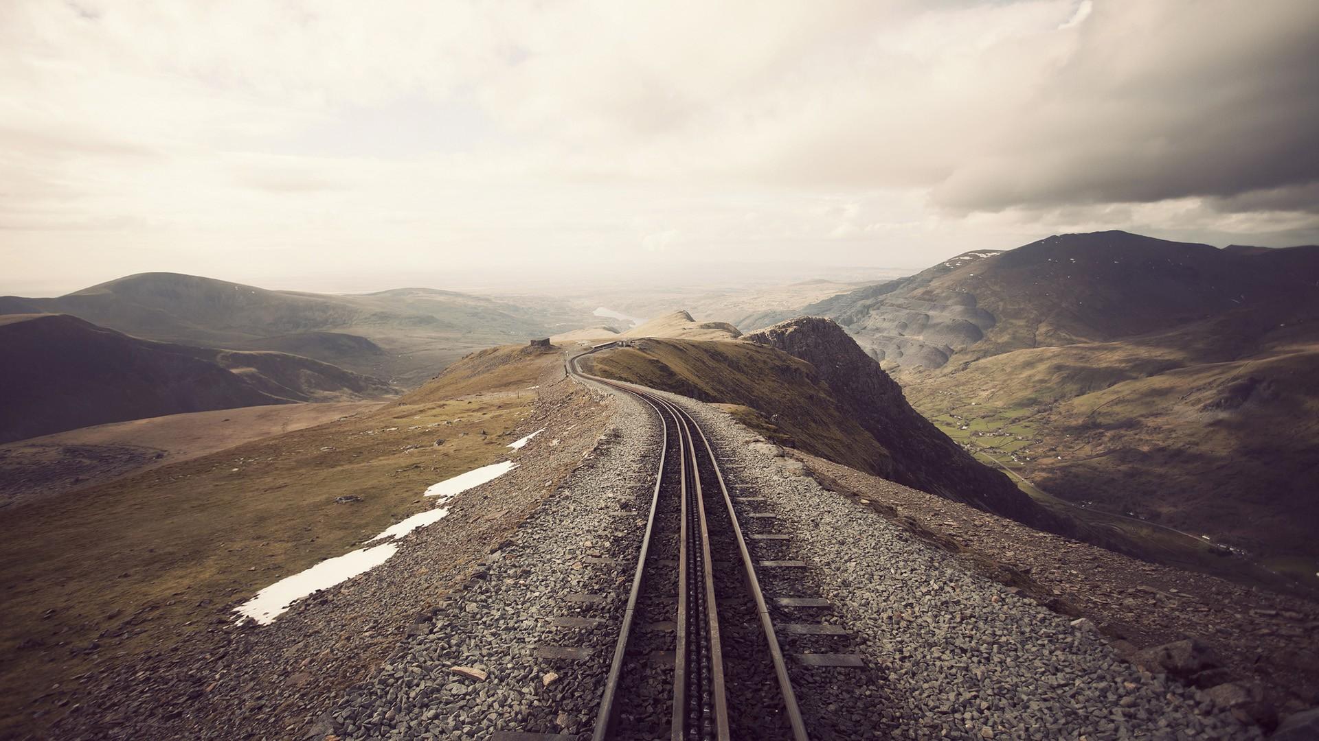 Fondos Vías de ferrocarril (Railroad Tracks) ADNFriki (9)
