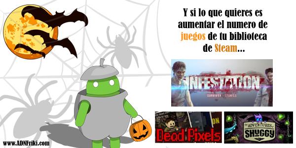 Sorteo Juegos Steam HalloweenADN