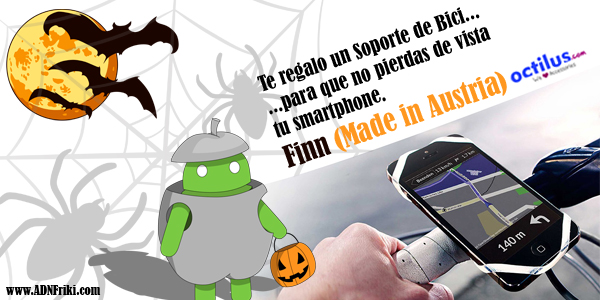 Sorteo Soporte FINN HalloweenADN i