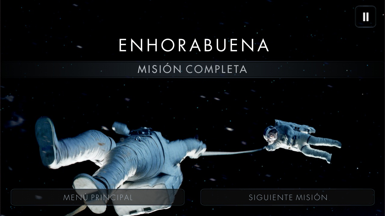 mision completa gravity juego android