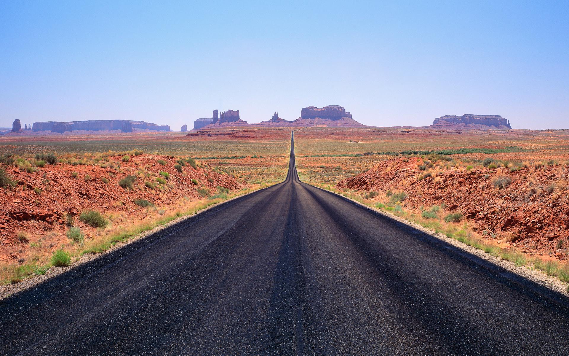 дорога горизонт даль горы  № 3816595 загрузить