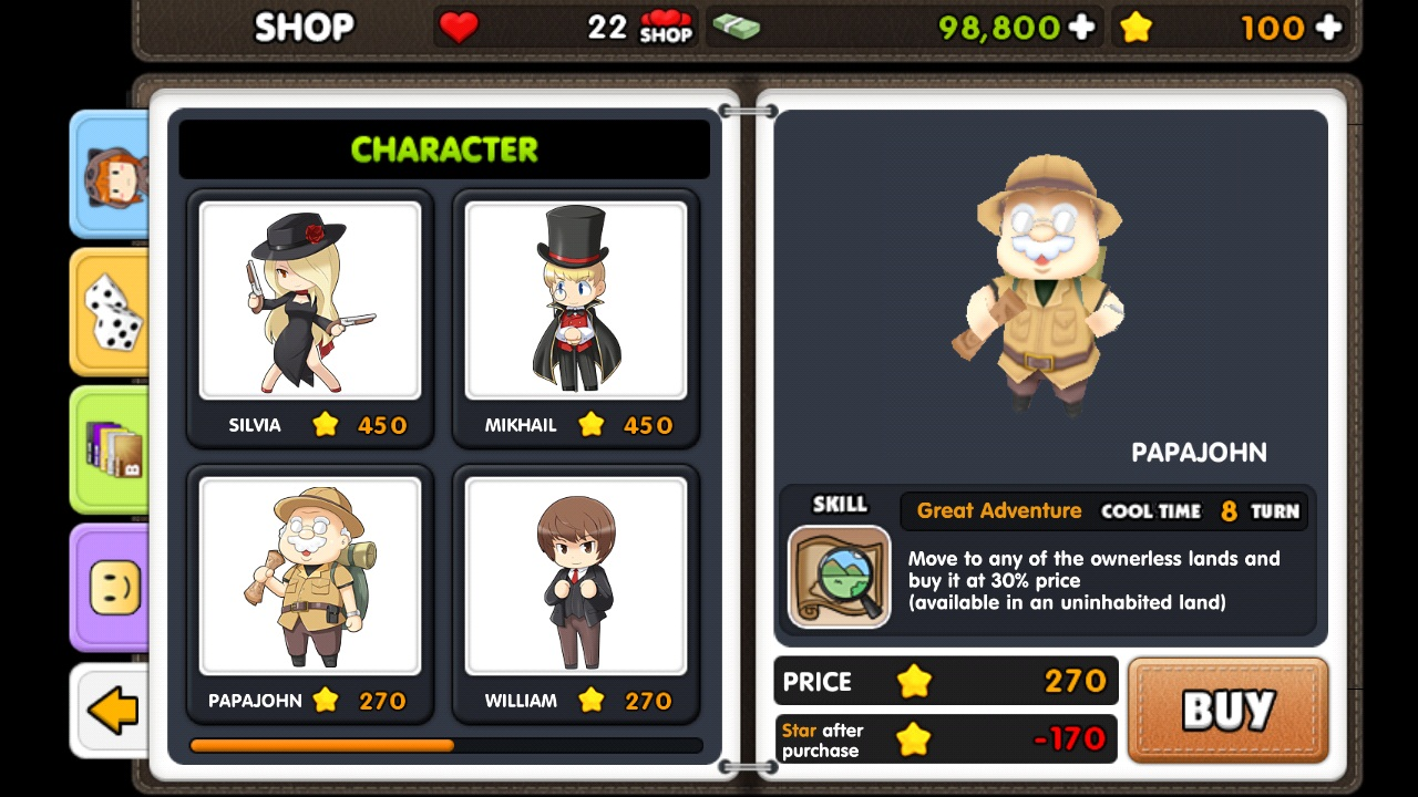Star City Tycoon Personajes