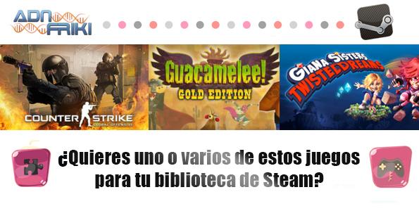 juegos steam sorteo abril