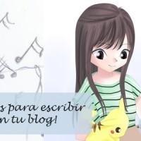 Consejos escribir posts