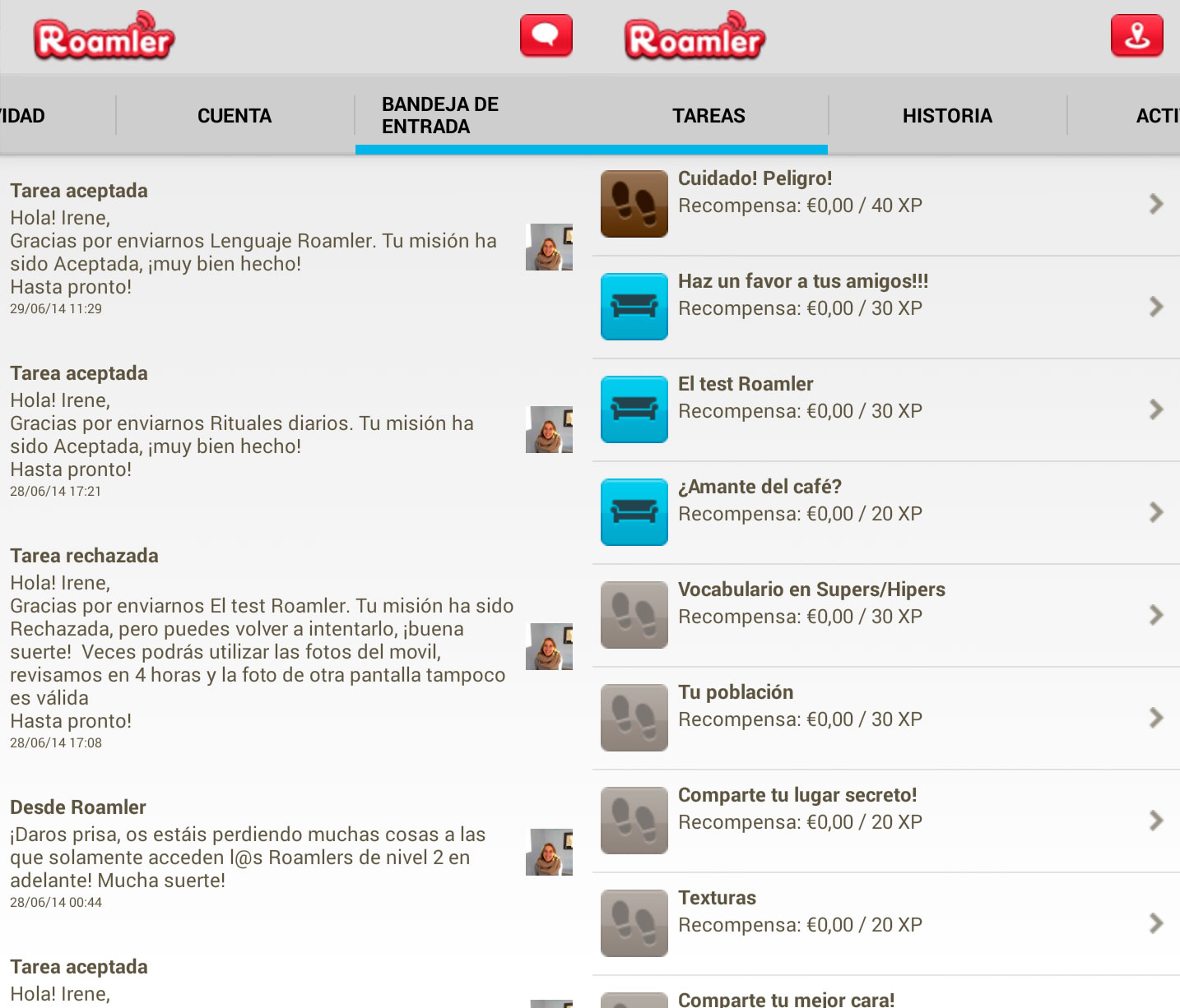 Roamler-app