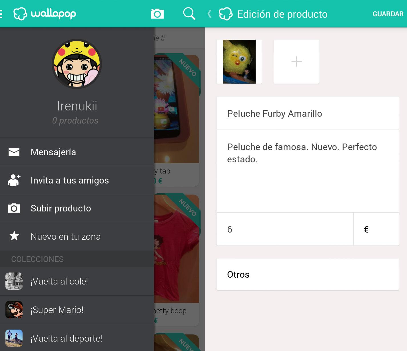 Artesanato Quarto De Bebe ~ Wallapop Compra y vende productos de segunda mano cerca