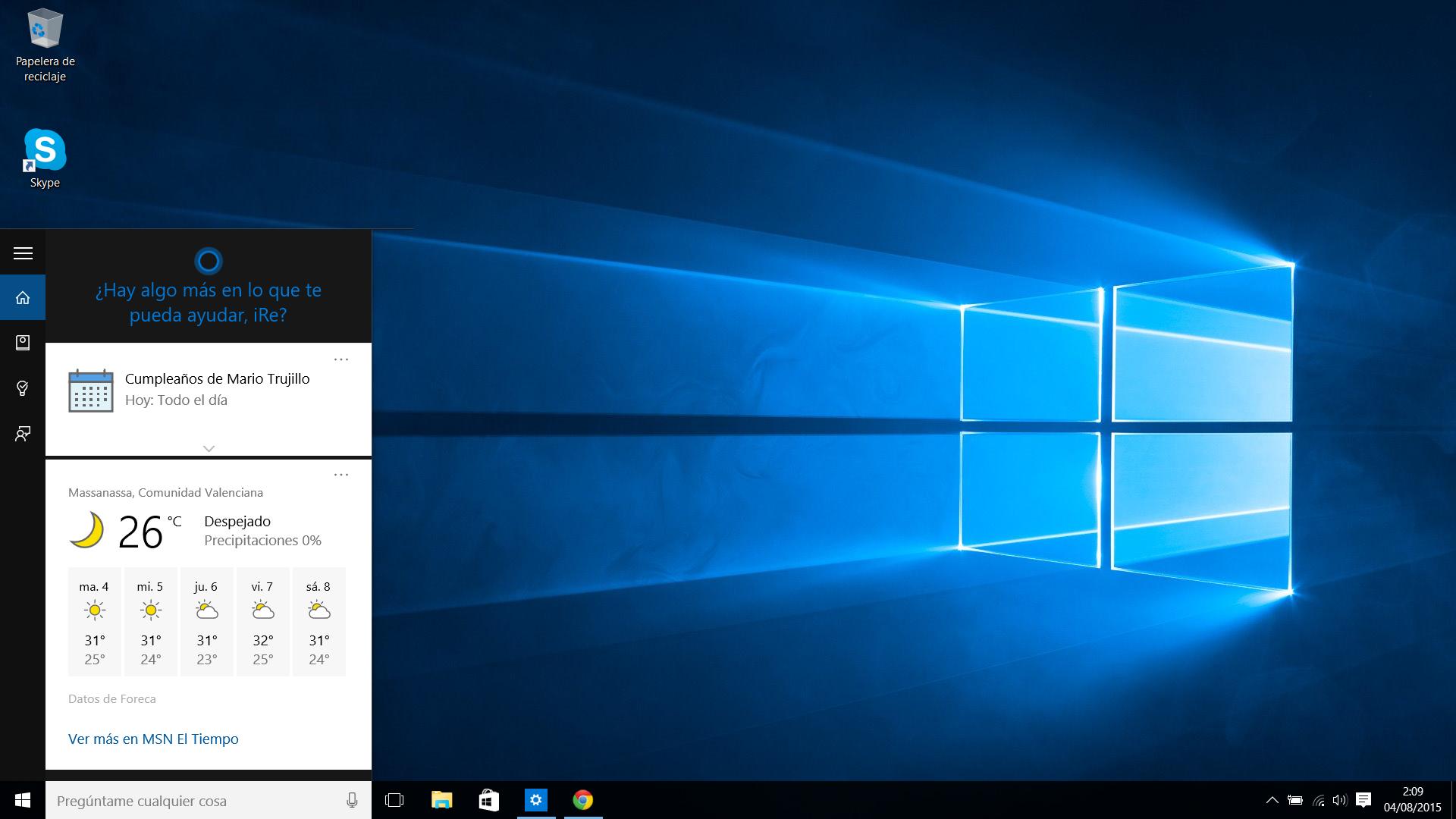Cortana-Windows-10