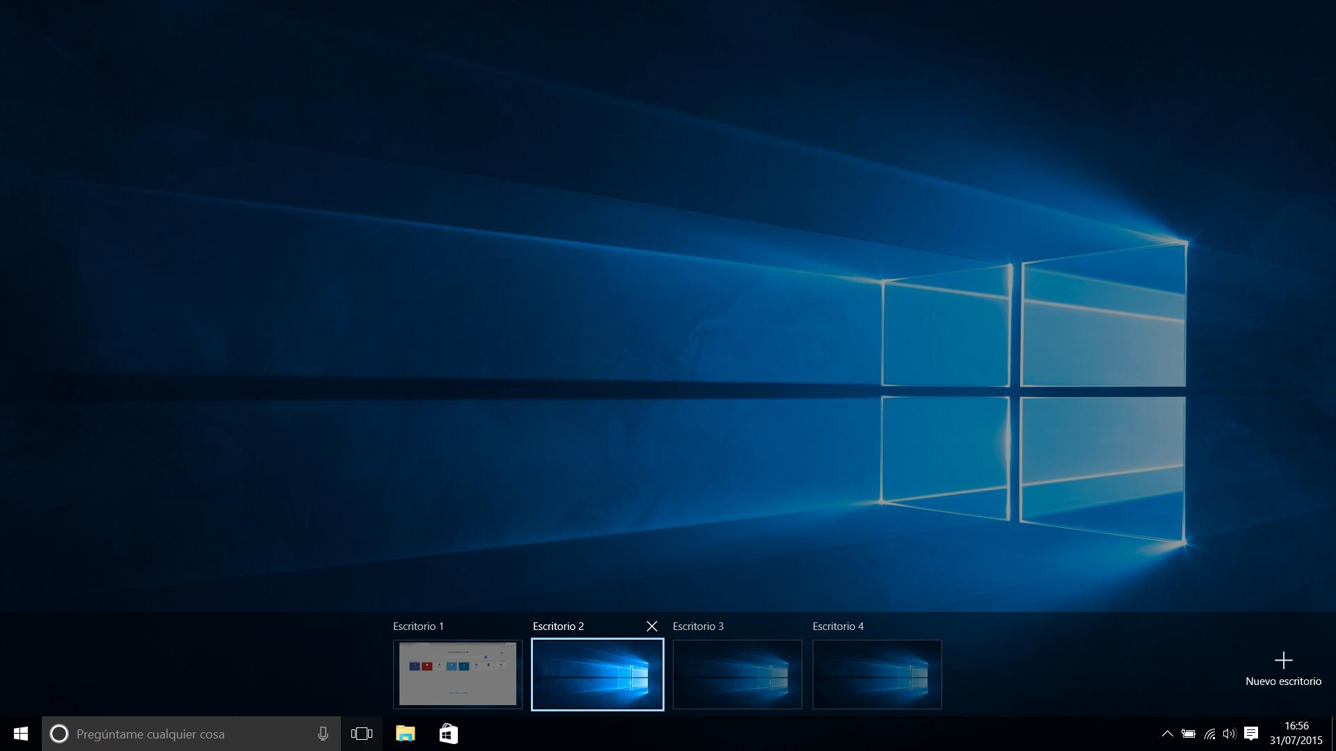 escritorios Windows 10