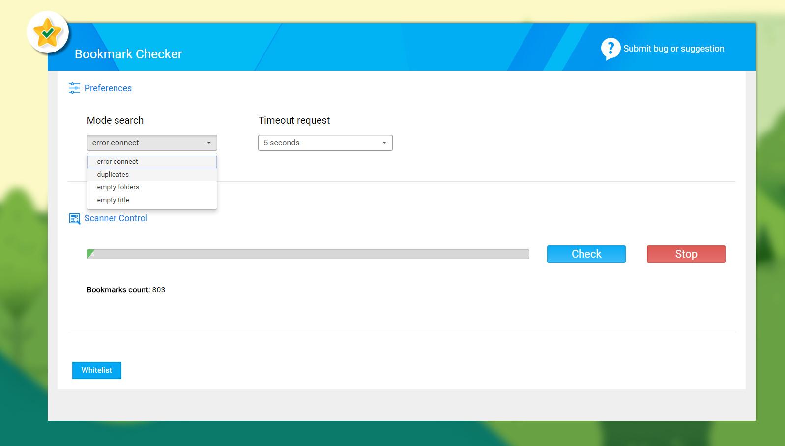 Bookmark-Checker-Eliminar-duplicados-Chrome