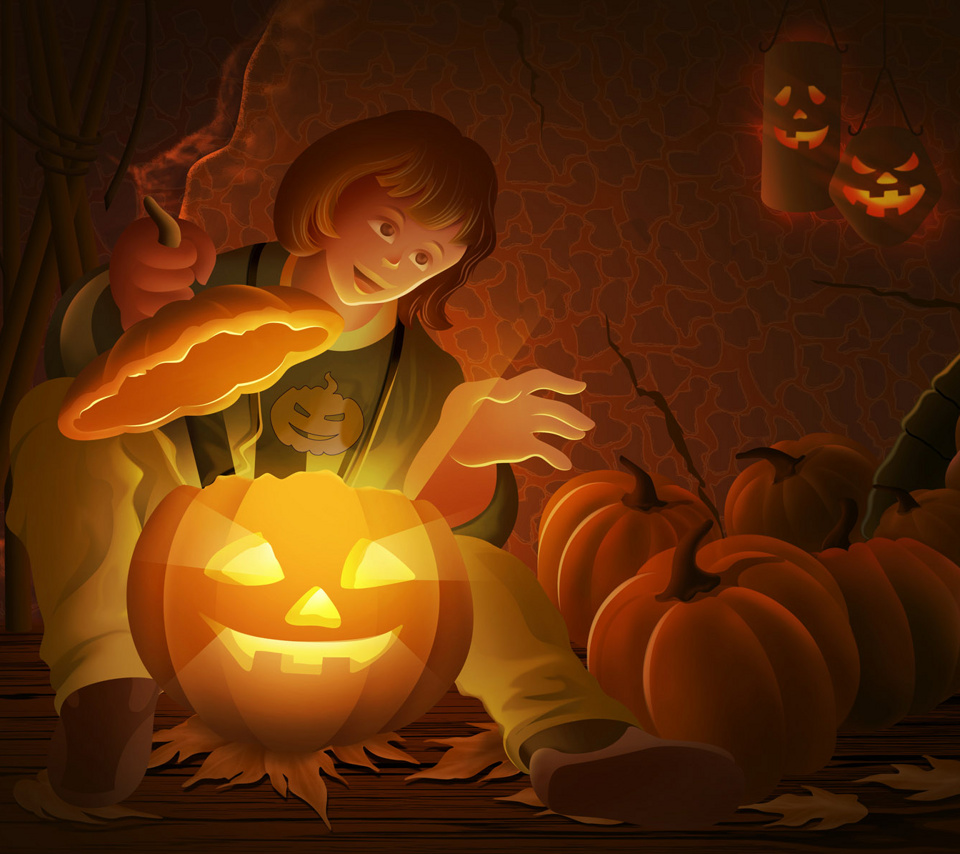 Fondo Android Halloween 7