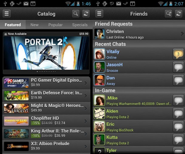 steam mobile android