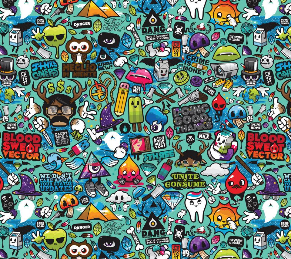 Fondos para Android: Especial Abstractos ADNFriki