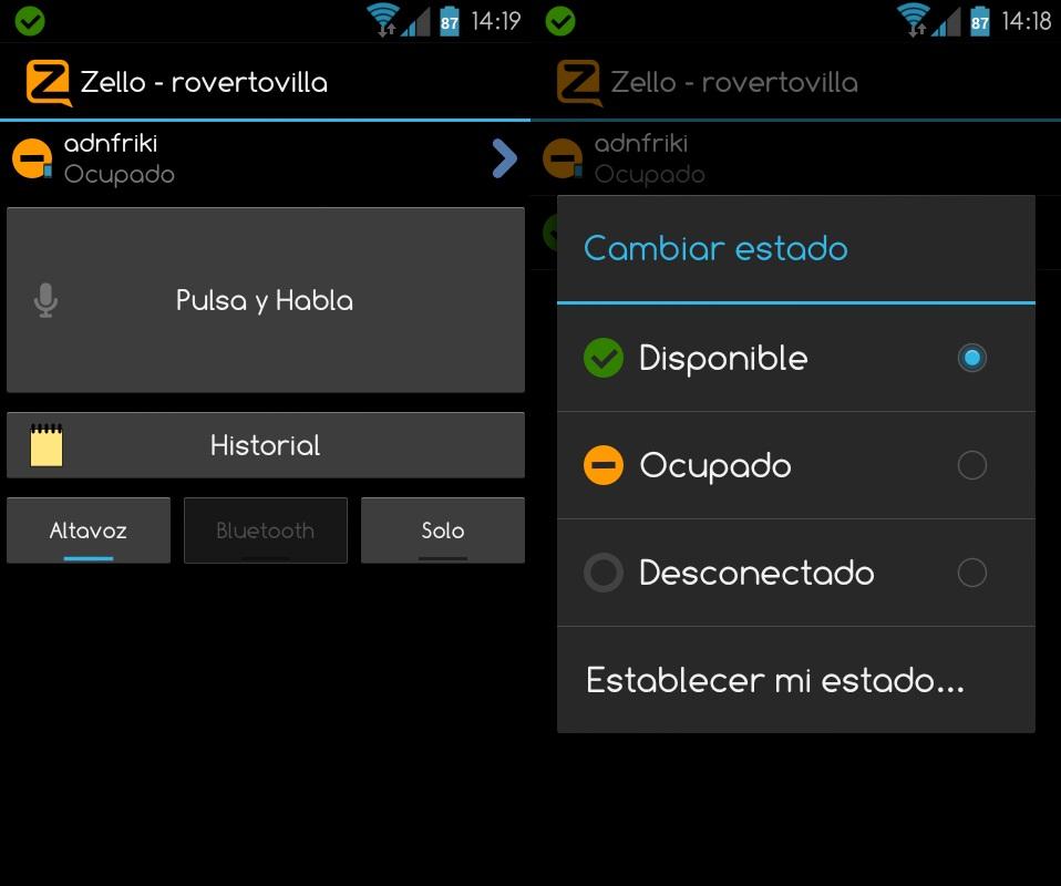 Zello 161 Convierte Tu Android En Un Walkie Talkie Adnfriki