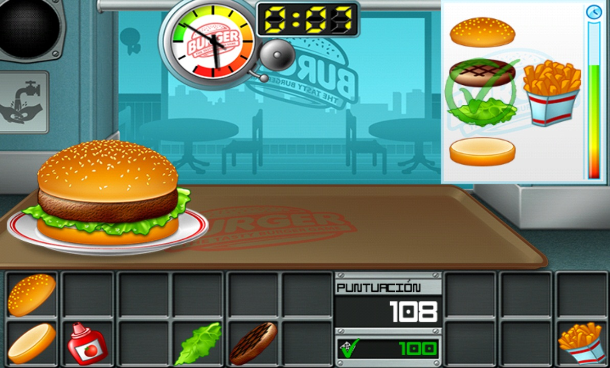Juegos Para Cocinar Hamburguesas Www Imagenesmy Com