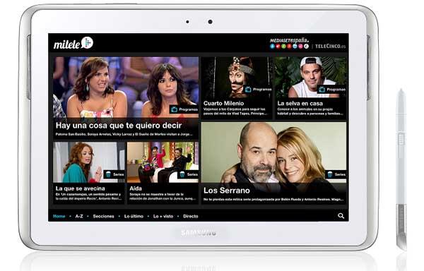 Mitele llega a Android gracias a Mediaset y Samsung | ADNFriki