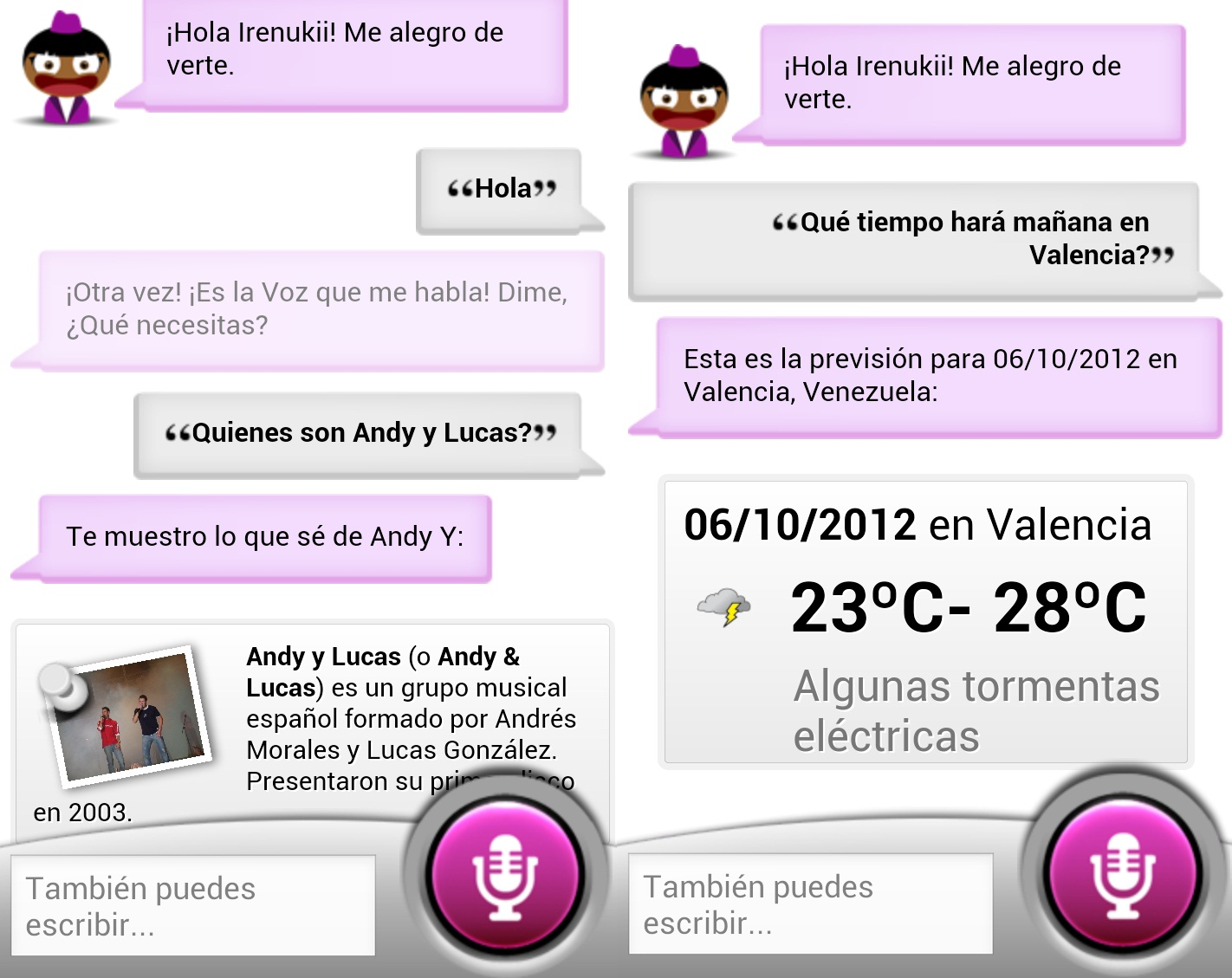sherpa asistente android