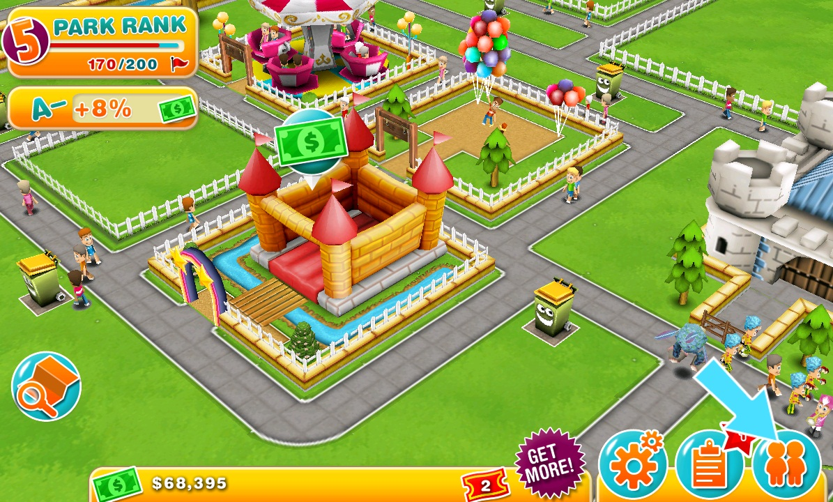 Sim Theme Park () Game Download - GamesNostalgia