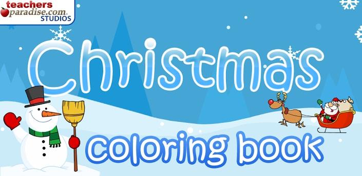 libro para colorear de navidad