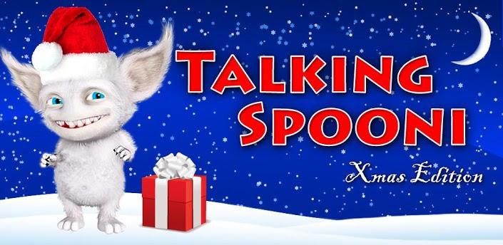 talking spooni navidad