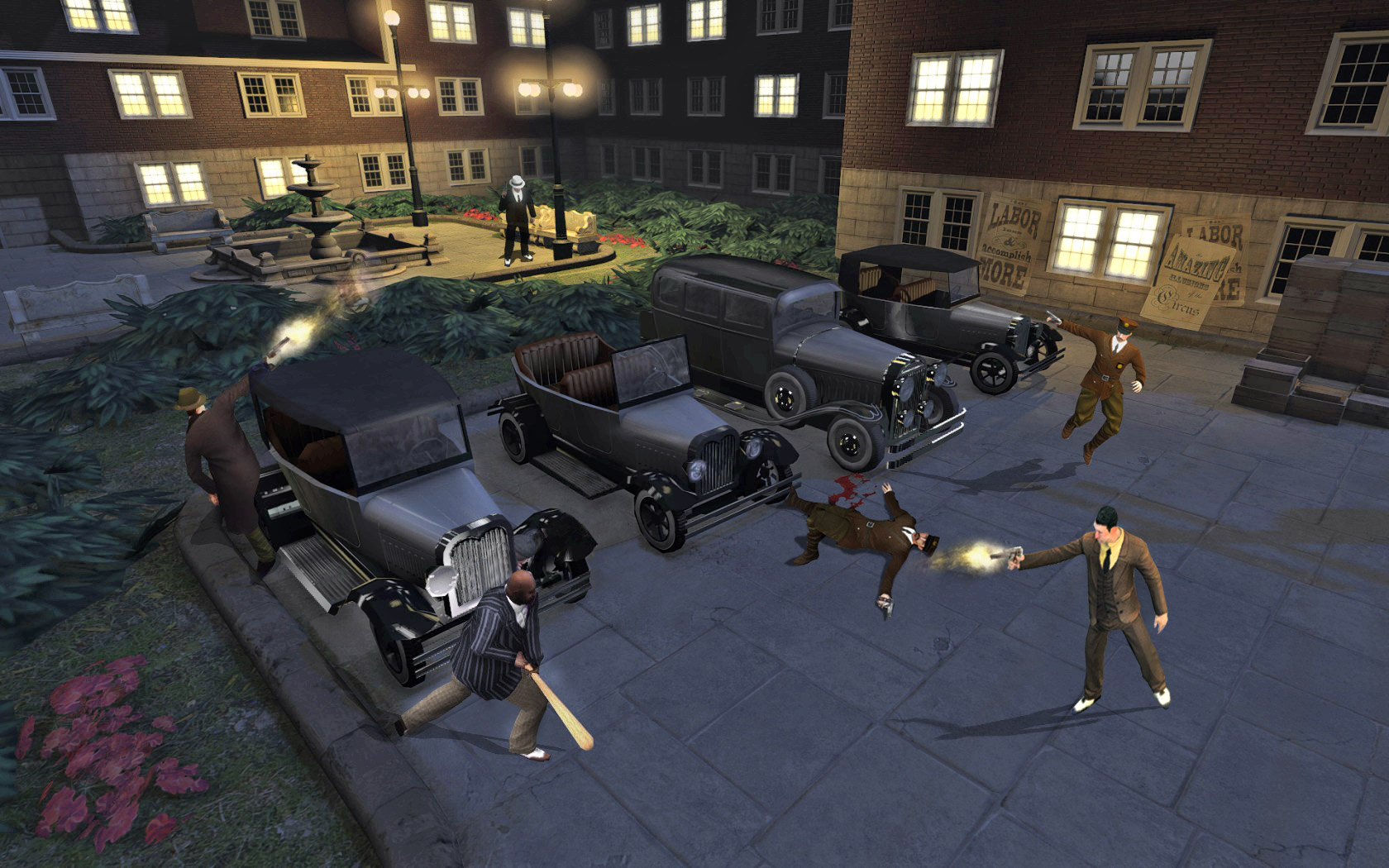 City of Gangsters_tiroteo